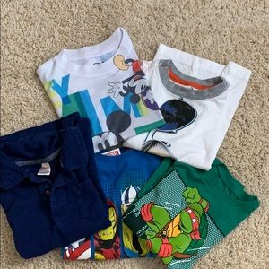 Other - Bundle, 5 T-shirt's size 4 and 5